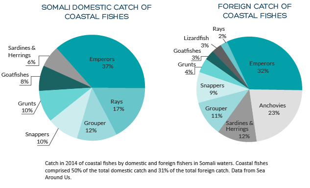 coastal fishes charts