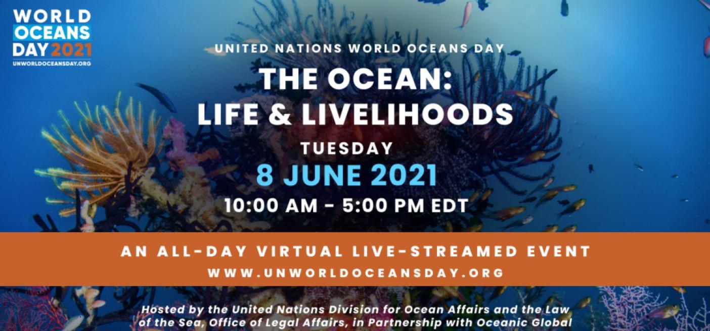 World Oceans Day, June 8.