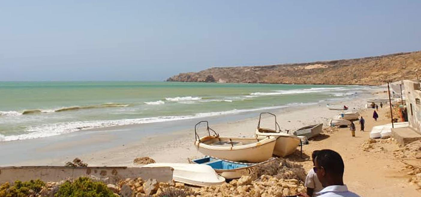 Bander Beyla fishing community COVID