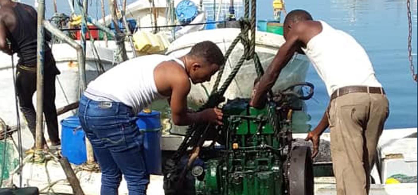 somali engine repair workshop