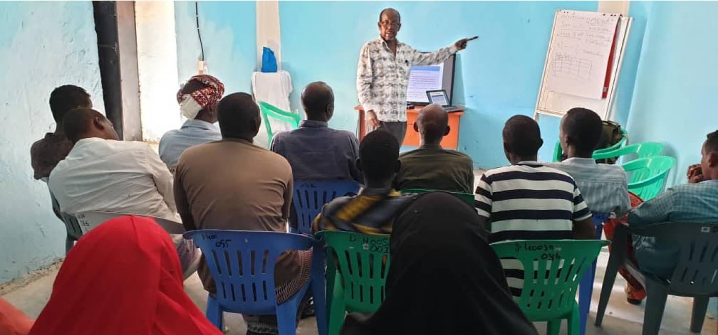 marine environmental education workshop Somalia