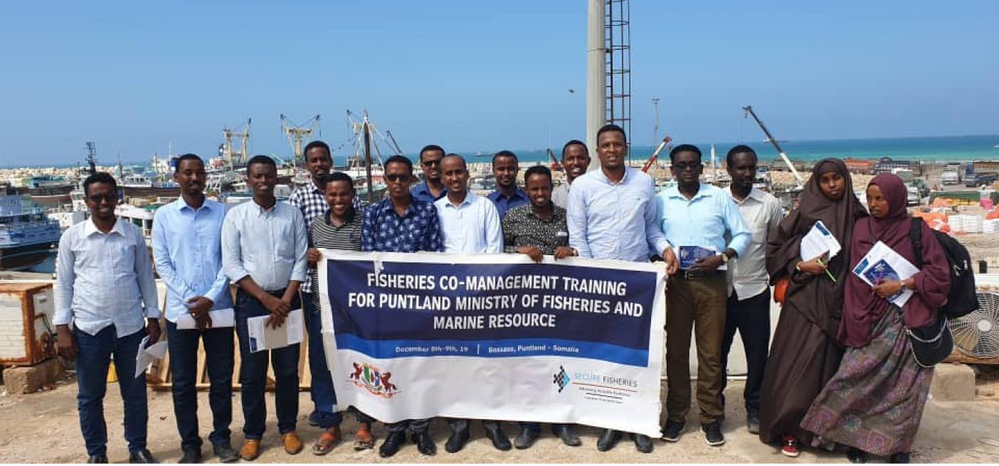 Puntland co-management fisheries training
