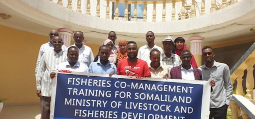 Somaliland Ministry Co-Management Training