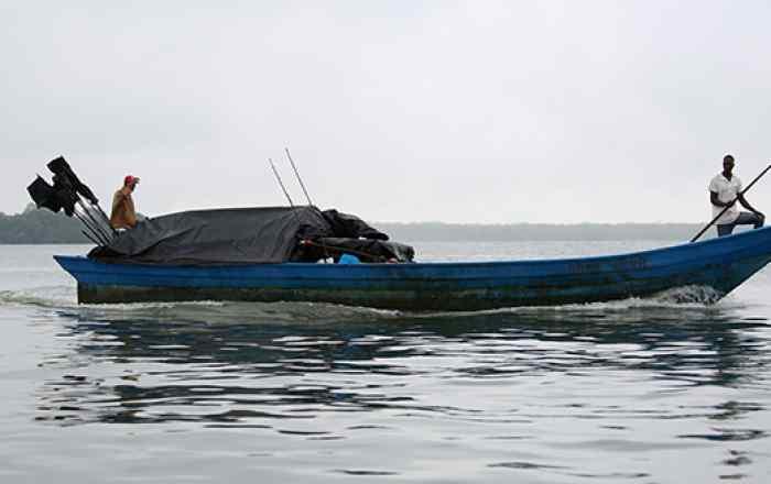 Traditional Fisherman in Somalia