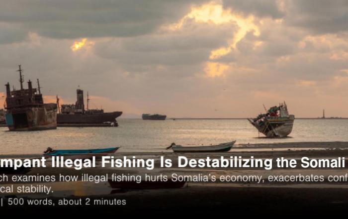 illegal fishing somali region