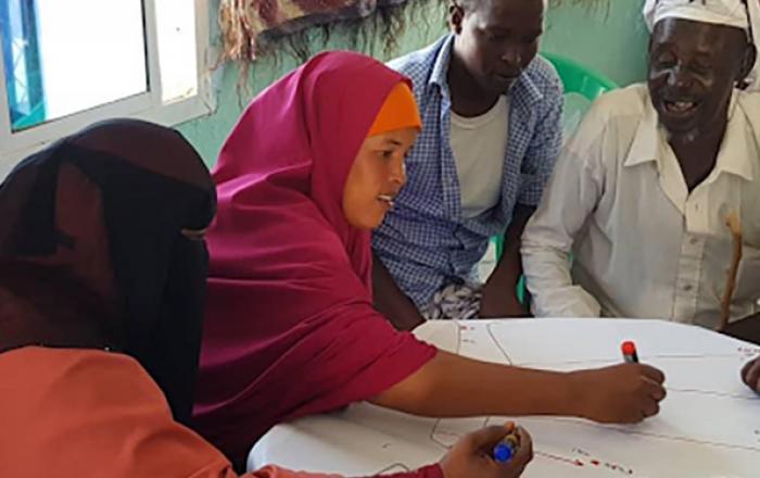 Somali mapping workshop community