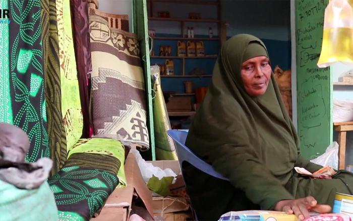 Women entrepreneurs Somali fishing