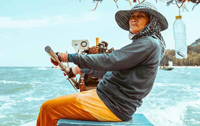 women in maritime fishing