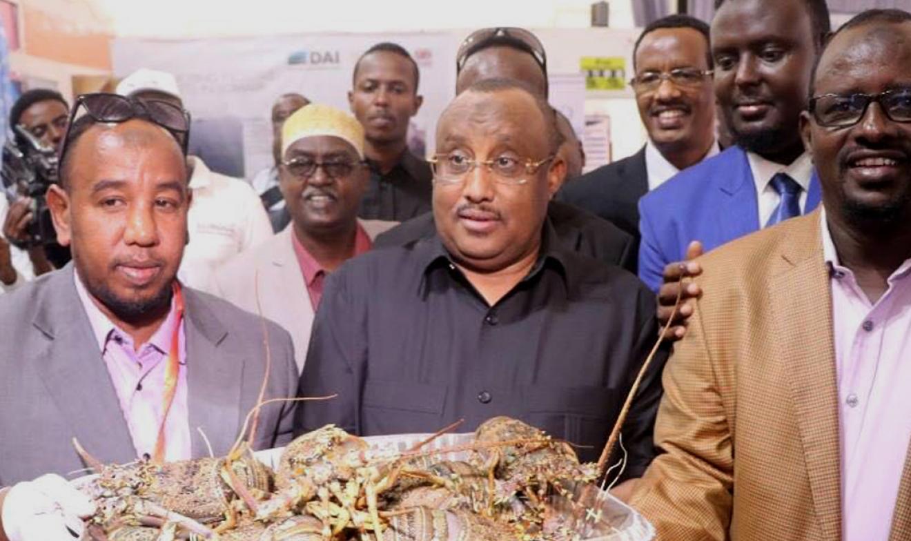 Somali President Gaas