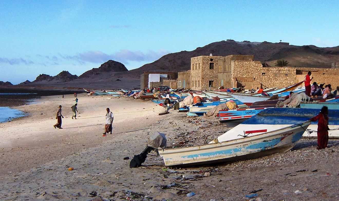 Yemeni fishing